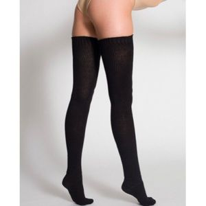 American Apparel Thigh High Socks